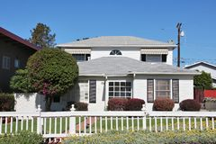 Σπίτι Καλιφόρνιας Στοκ Εικόνες