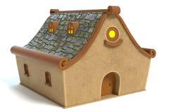 Σπίτι κινούμενων σχεδίων Στοκ φωτογραφία με δικαίωμα ελεύθερης χρήσης