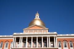 Σπίτι κρατικού Capitol της Μασαχουσέτης, Βοστώνη, μΑ στοκ εικόνα με δικαίωμα ελεύθερης χρήσης