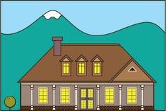 Σπίτι κτημάτων διανυσματική απεικόνιση