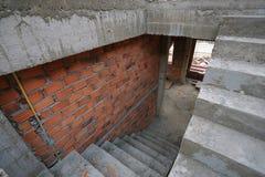 Σπίτι κτηρίου και οικοδόμησης Στοκ εικόνα με δικαίωμα ελεύθερης χρήσης