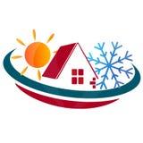 Σπίτι κλιματισμού Στοκ Εικόνα