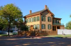 σπίτι Λίνκολν του Abraham Στοκ φωτογραφία με δικαίωμα ελεύθερης χρήσης