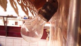 Σπίτι λαμπών φωτός με τη σκόνη στοκ φωτογραφίες με δικαίωμα ελεύθερης χρήσης