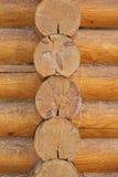 σπίτι λεπτομέρειας ξύλινο Στοκ Φωτογραφίες