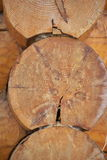 σπίτι λεπτομέρειας ξύλιν&omicro Στοκ φωτογραφίες με δικαίωμα ελεύθερης χρήσης