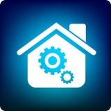 σπίτι λογιστικό Στοκ εικόνα με δικαίωμα ελεύθερης χρήσης