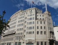 Σπίτι Λονδίνο ραδιοφωνικής αναμετάδοσης BBC Στοκ εικόνα με δικαίωμα ελεύθερης χρήσης