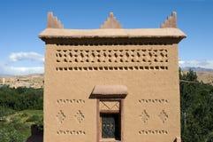 σπίτι Μαροκινός χαρακτηρι&s Στοκ Εικόνα