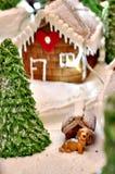 Σπίτι μελοψωμάτων Στοκ Εικόνα