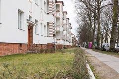 Σπίτι με την πράσινη περιοχή Στοκ φωτογραφία με δικαίωμα ελεύθερης χρήσης