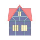 Σπίτι με δύο πατώματα Στοκ Εικόνα