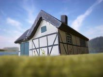 Σπίτι μισθώματος παραλιών Στοκ Εικόνα