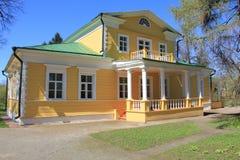 Σπίτι-μουσείο του Αλεξάνδρου Pushkin. Στοκ φωτογραφία με δικαίωμα ελεύθερης χρήσης