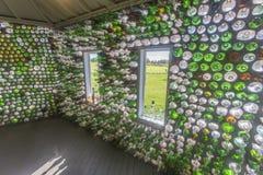 Σπίτι μπουκαλιών, εσωτερικό Στοκ φωτογραφία με δικαίωμα ελεύθερης χρήσης