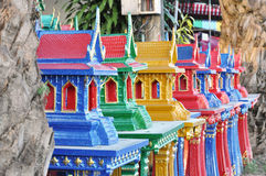 Σπίτι νέα Ταϊλάνδη κινέζικων ειδώλων Στοκ Εικόνα