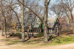 Σπίτι Νέα Υόρκη του Central Park στοκ φωτογραφίες με δικαίωμα ελεύθερης χρήσης
