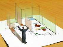 σπίτι νέο Διανυσματική απεικόνιση