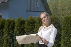σπίτι νέο Στοκ εικόνες με δικαίωμα ελεύθερης χρήσης