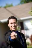 Σπίτι: Να αντέξει αντιπροσωπείας ακίνητων περιουσιών κλειδιά Στοκ Εικόνες