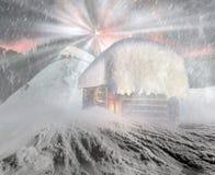 Σπίτι νεράιδων στα βουνά Στοκ φωτογραφίες με δικαίωμα ελεύθερης χρήσης