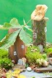 σπίτι νεράιδων Στοκ Εικόνες