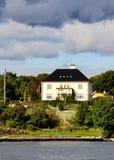 σπίτι νορβηγικά Στοκ φωτογραφία με δικαίωμα ελεύθερης χρήσης