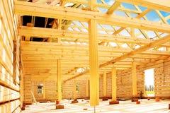Σπίτι ξυλείας Στοκ φωτογραφία με δικαίωμα ελεύθερης χρήσης