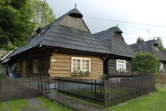 σπίτι ξύλινο Στοκ εικόνα με δικαίωμα ελεύθερης χρήσης