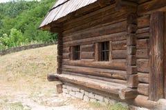 σπίτι ξύλινο Στοκ Φωτογραφία