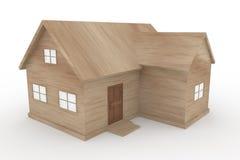 σπίτι ξύλινο απεικόνιση αποθεμάτων