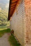 σπίτι ξύλινο Στοκ Φωτογραφίες