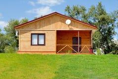 σπίτι ξύλινο Στοκ φωτογραφίες με δικαίωμα ελεύθερης χρήσης