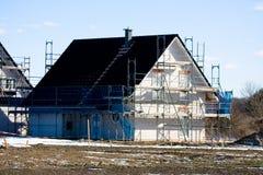 σπίτι οικοδόμησης Στοκ εικόνα με δικαίωμα ελεύθερης χρήσης