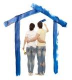 Σπίτι ονείρου Στοκ εικόνα με δικαίωμα ελεύθερης χρήσης