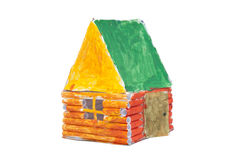 Σπίτι παιδιών του εγγράφου στοκ εικόνες με δικαίωμα ελεύθερης χρήσης