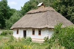 σπίτι παλαιός Ουκρανός Στοκ Φωτογραφία