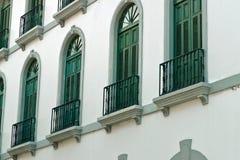 σπίτι παλαιός Παναμάς πόλε&omega Στοκ Εικόνες