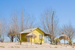 σπίτι παραλιών στοκ φωτογραφία