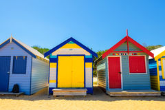 Σπίτι παραλιών στην παραλία του Μπράιτον Στοκ φωτογραφίες με δικαίωμα ελεύθερης χρήσης