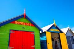 Σπίτι παραλιών στην παραλία του Μπράιτον Στοκ Εικόνες