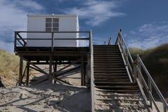 Σπίτι παραλιών φρουράς Στοκ φωτογραφία με δικαίωμα ελεύθερης χρήσης