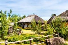 σπίτι παλαιός Ουκρανός Στοκ φωτογραφία με δικαίωμα ελεύθερης χρήσης