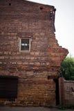 σπίτι παλαιό 30 πόλη χαρτονιών 50 μπαλκονιών κατασκεύασαν τα διακοσμητικά έτη του Ιρκούτσκ Ρωσία Στάλιν σπιτιών εποχής στοιχείων Στοκ Εικόνα