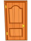σπίτι πορτών κινούμενων σχεδίων Στοκ εικόνα με δικαίωμα ελεύθερης χρήσης