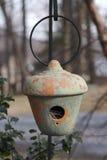 σπίτι πουλιών Στοκ φωτογραφία με δικαίωμα ελεύθερης χρήσης