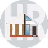Σπίτι που αναδιαμορφώνει την επιχειρησιακή έννοια Στοκ Εικόνες