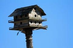 σπίτι πουλιών παλαιό Στοκ Φωτογραφία