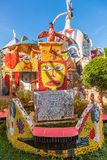 Σπίτι που καλύπτεται από τα κεραμίδια μωσαϊκών, Αβάνα Στοκ φωτογραφία με δικαίωμα ελεύθερης χρήσης