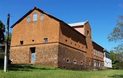 Σπίτι που κατασκευάζεται παλαιό στη Βραζιλία στοκ εικόνες